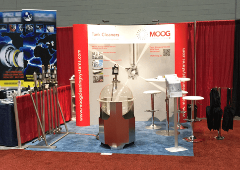MOOG Cleaning Systems an der Process Expo in Chicago, USA