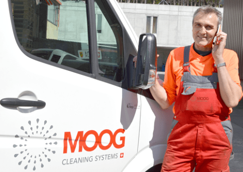 Reparaturdienst MOOG Cleaning Systems