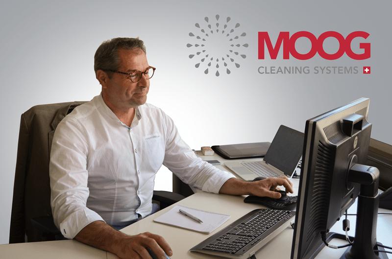 Eigene Entwicklung MOOG Cleaning Systems AG