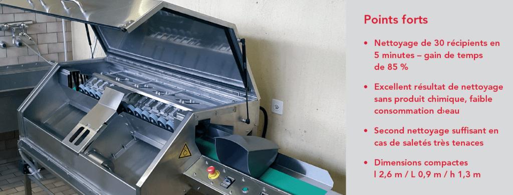 Nettoyage de poubelles plus efficace et plus ergonomique chez BLS