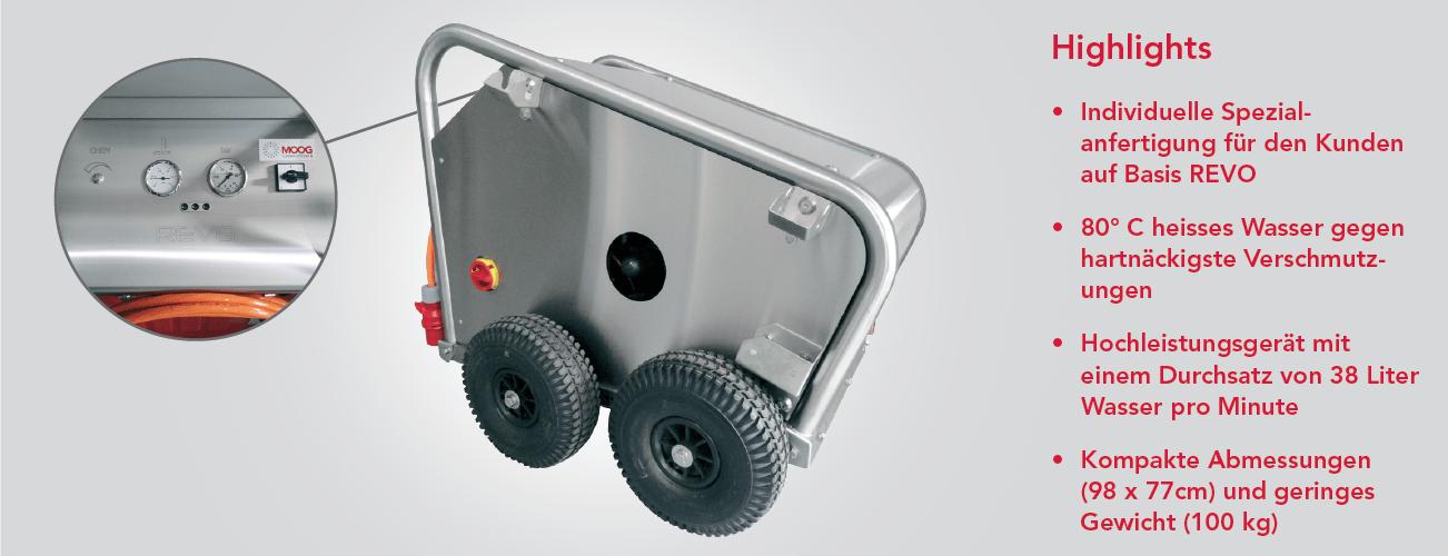 Mobile Hochleistungs-Hochdruckgeräte - Custom Made
