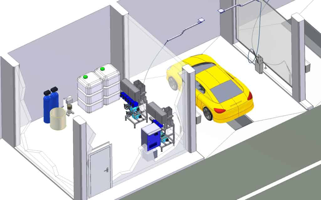 MOOG SB-Autowaschanlage Planung
