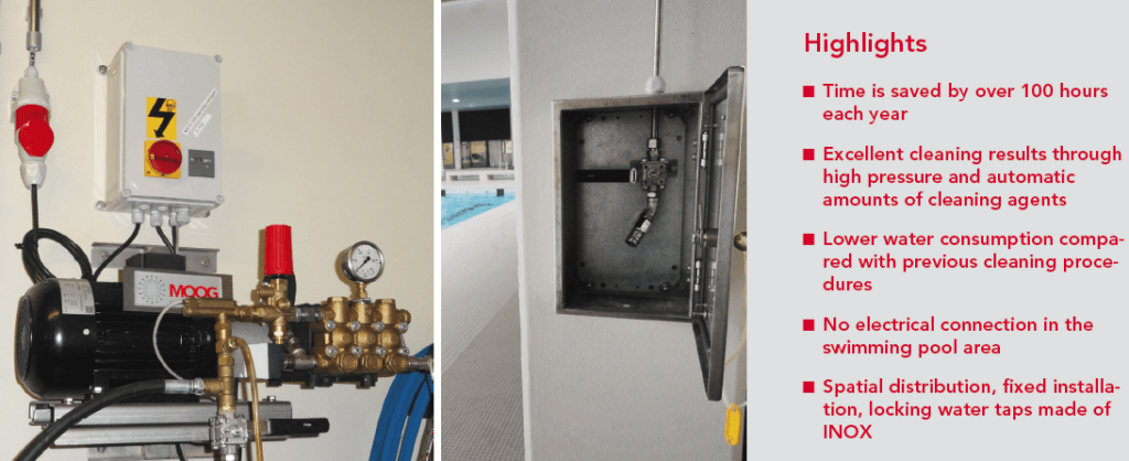 Innovation in Swimming Pool Cleaning