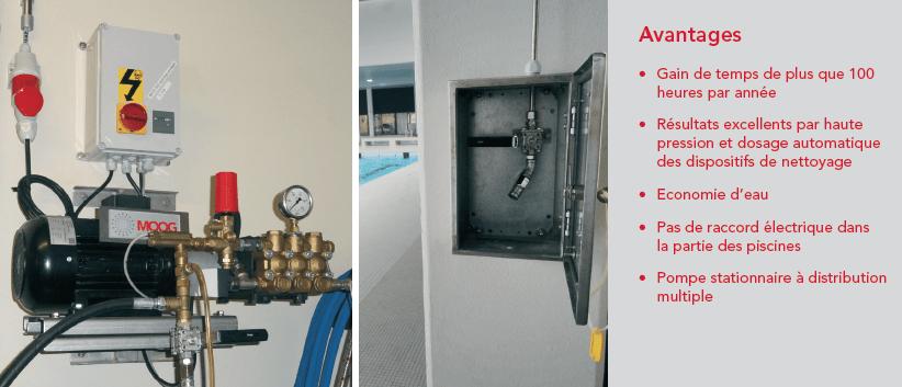 Innovation dans le domaine du nettoyage de piscines