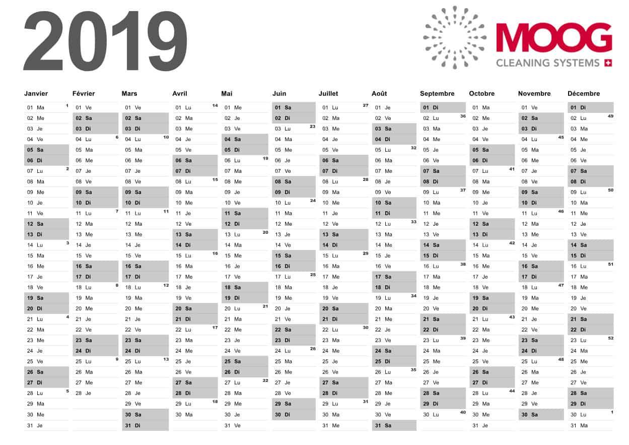 Moog Calendar February 2019 MOOG Calendar 2019 ⋆